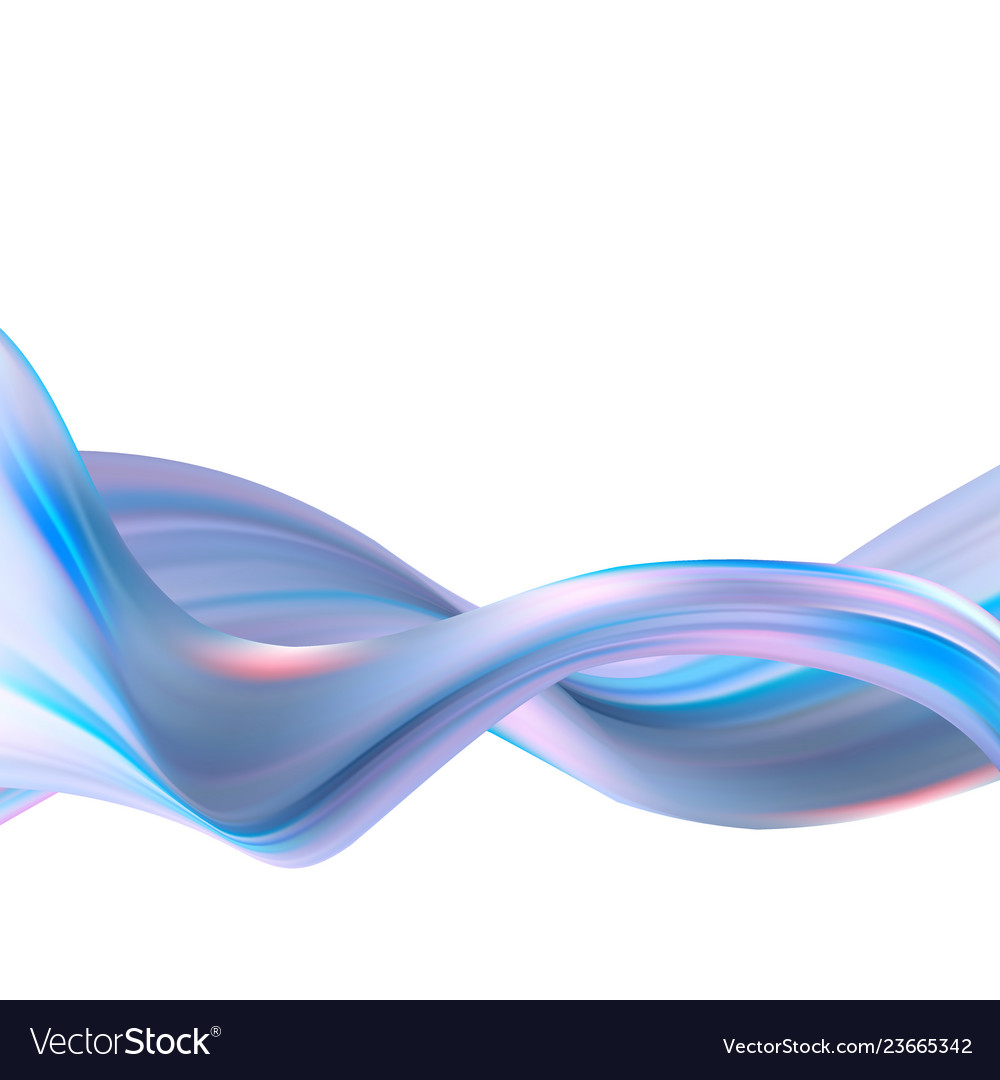 Abstract wavy background blue waves flow