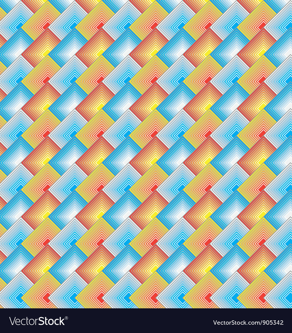 Rectangle Scale Pattern vector image
