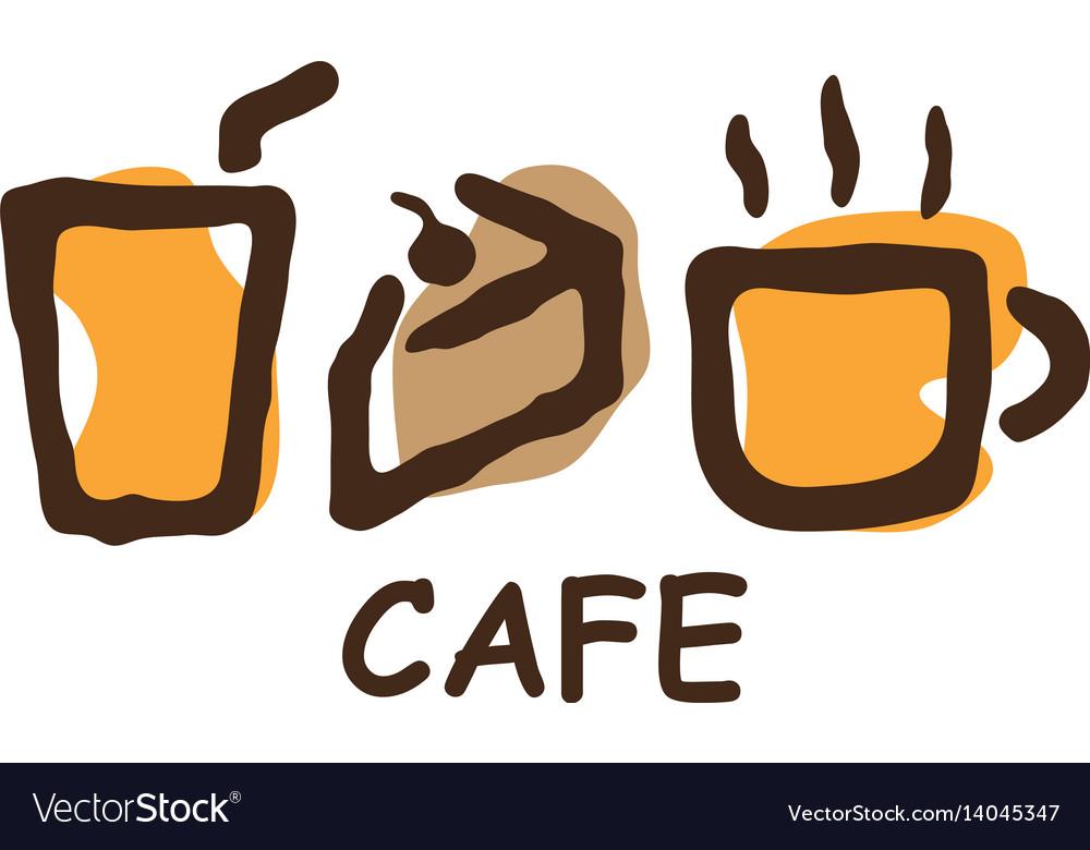 Cafe bakery element logo
