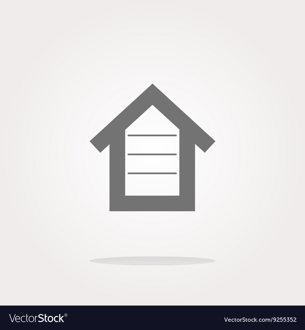 House button button signs web icon