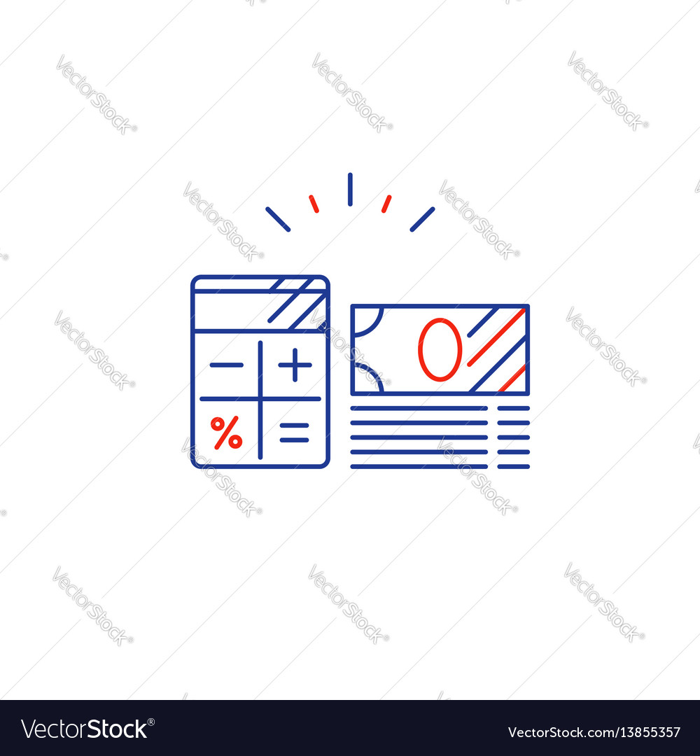 Business plan pay expenses calculate budget vector image