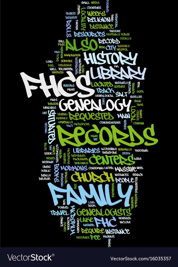 Mormon genealogy text background word cloud