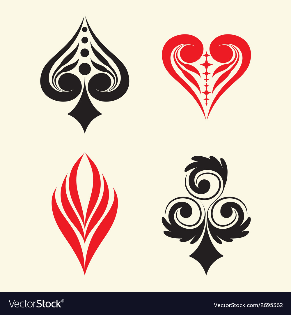 Playing Card Simple Ornament