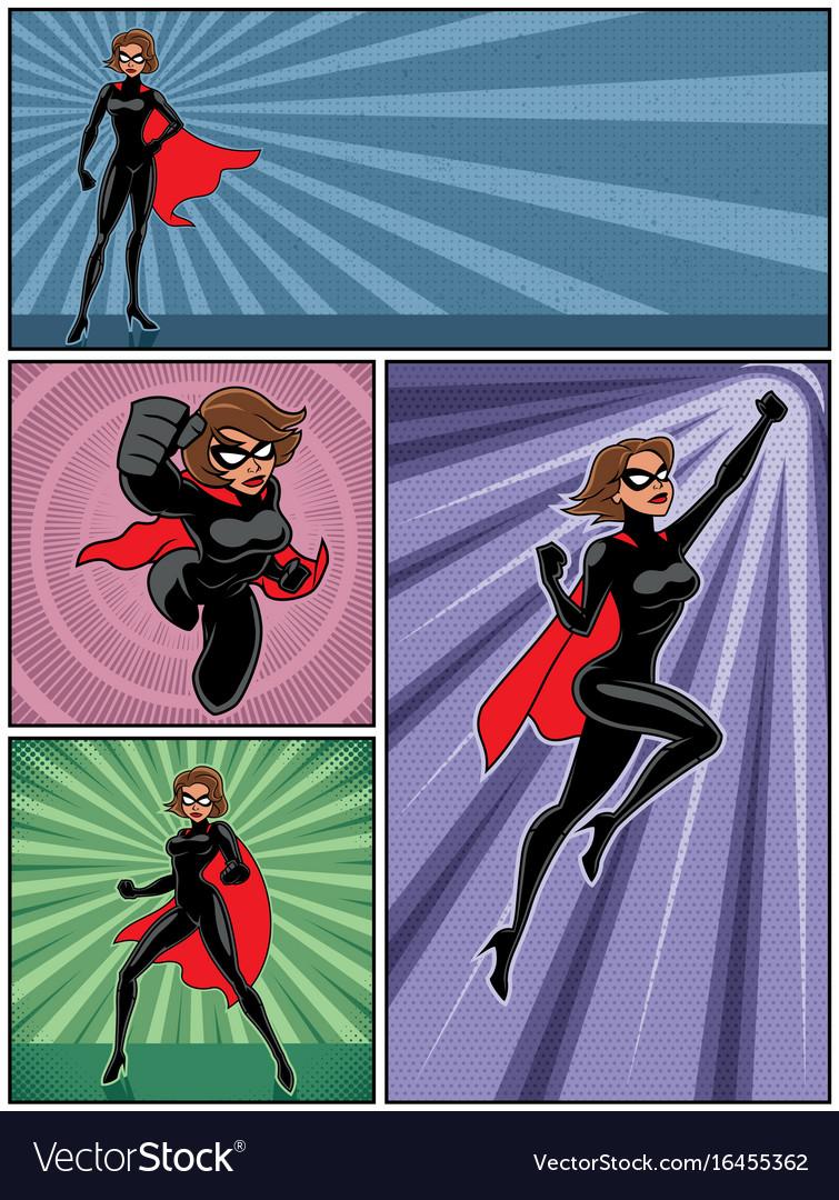 Super heroine banners 4