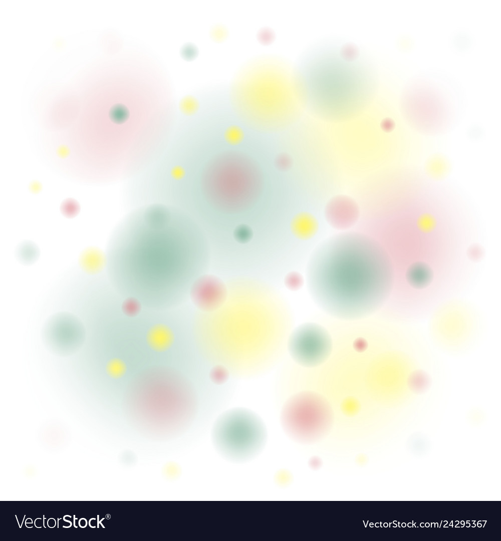Background colored spots yellow red green on