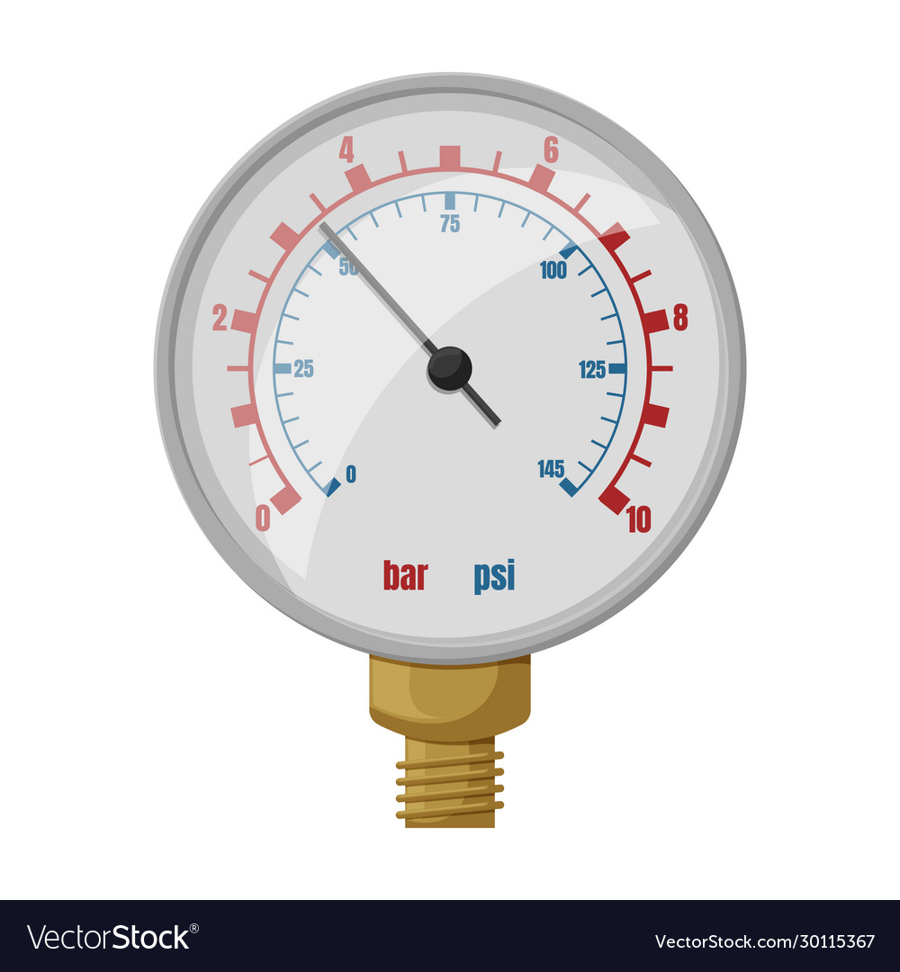 Barometer iconcartoon icon isolated