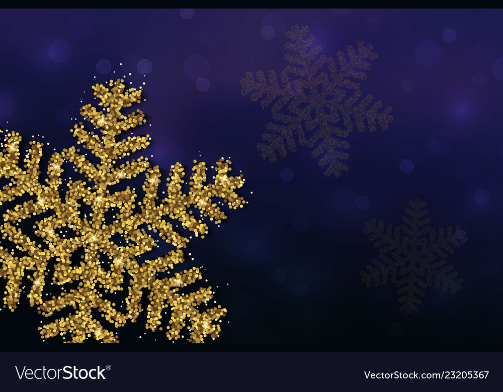 Christmas background snowflakes
