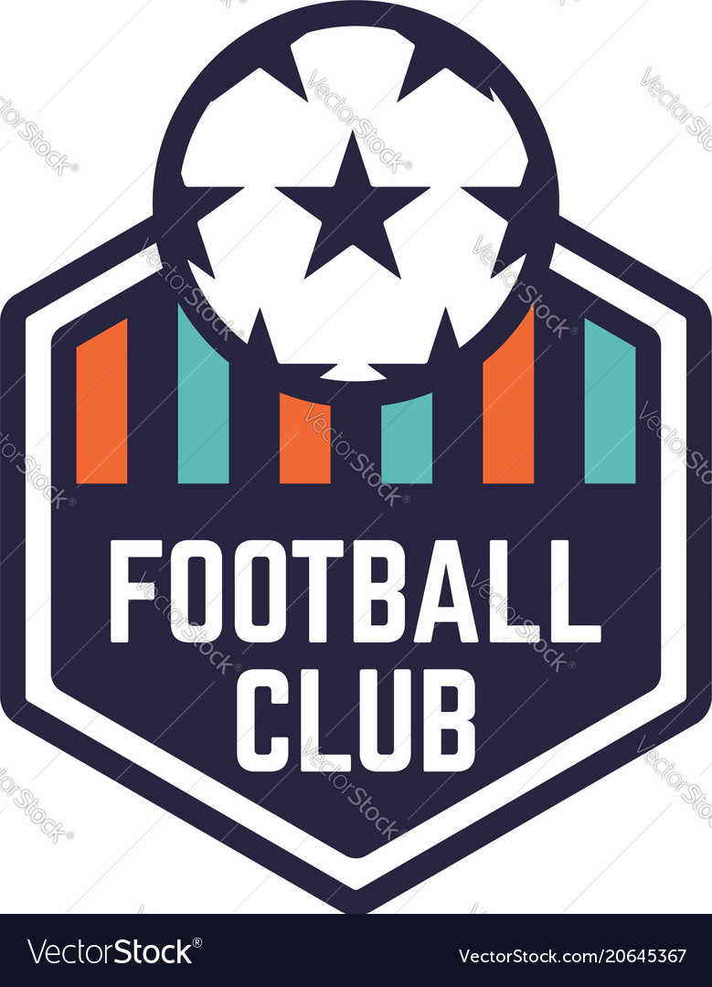 Soccer or football club logo or badge