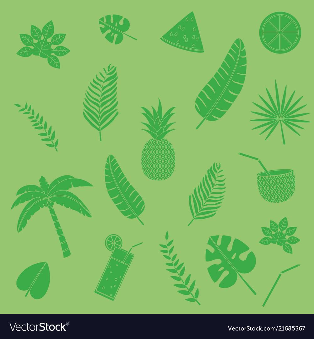 Summer wallpaper pattern