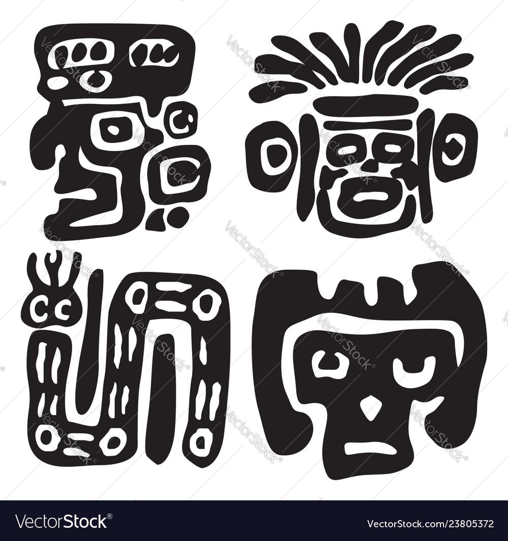 Maya ornament