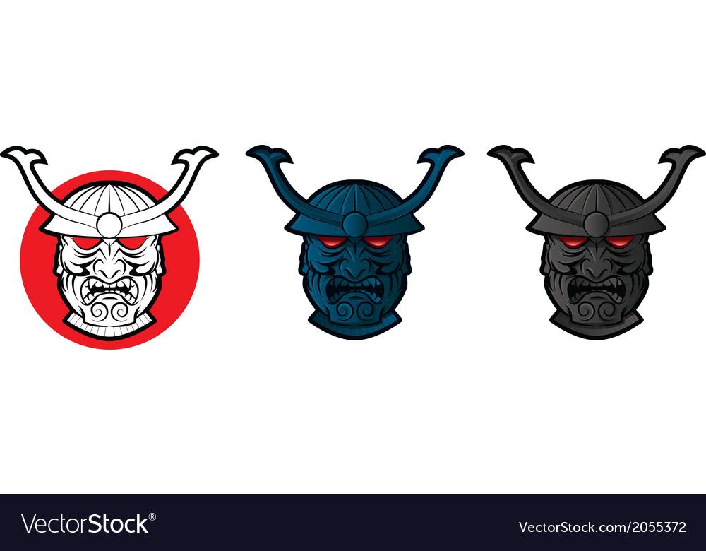 Samurai face