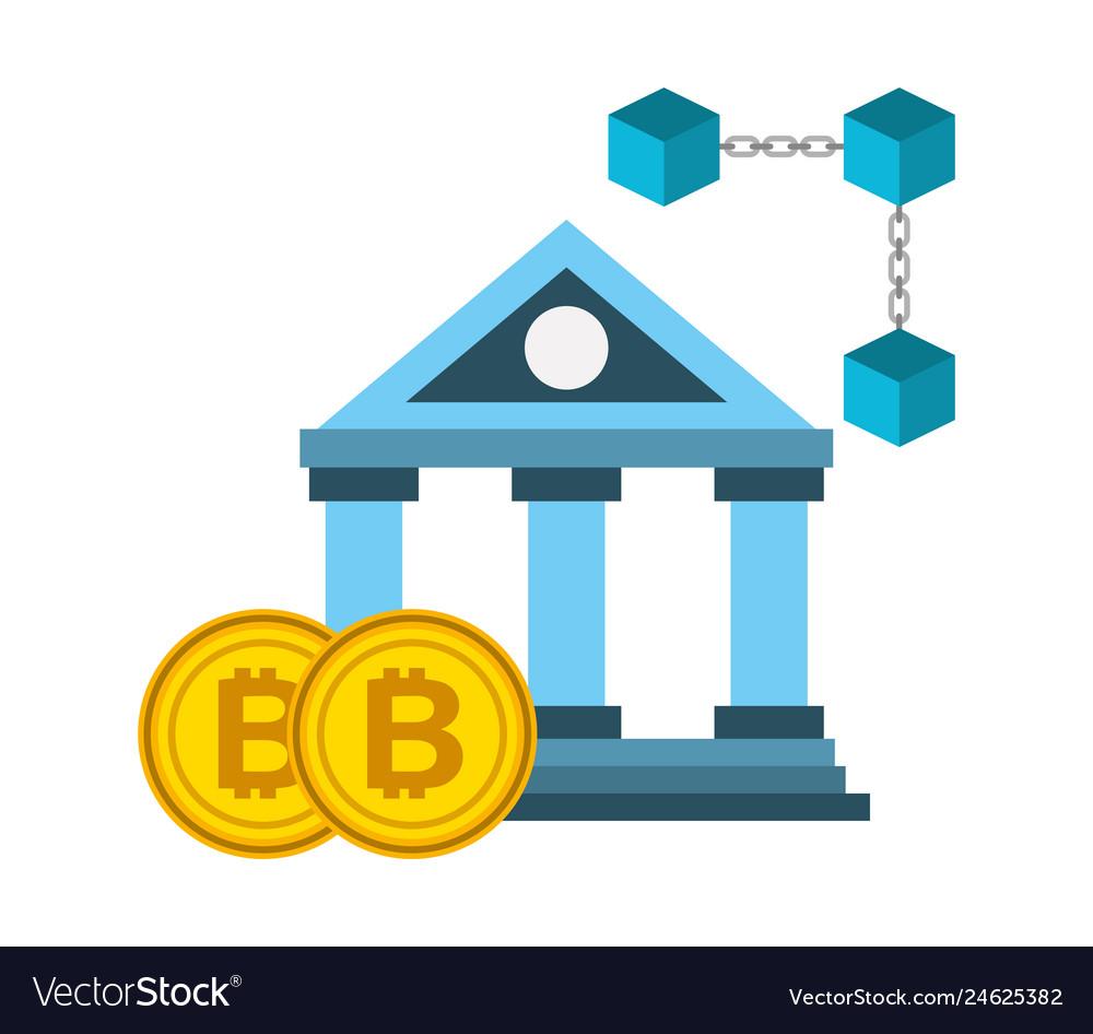 Bank blockchait bitcoins currency fintech