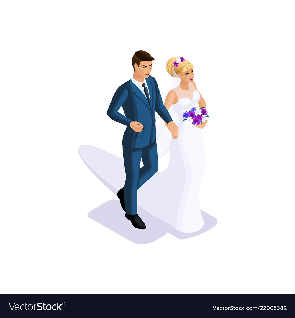 Isometrics of the groom and the bride are going to