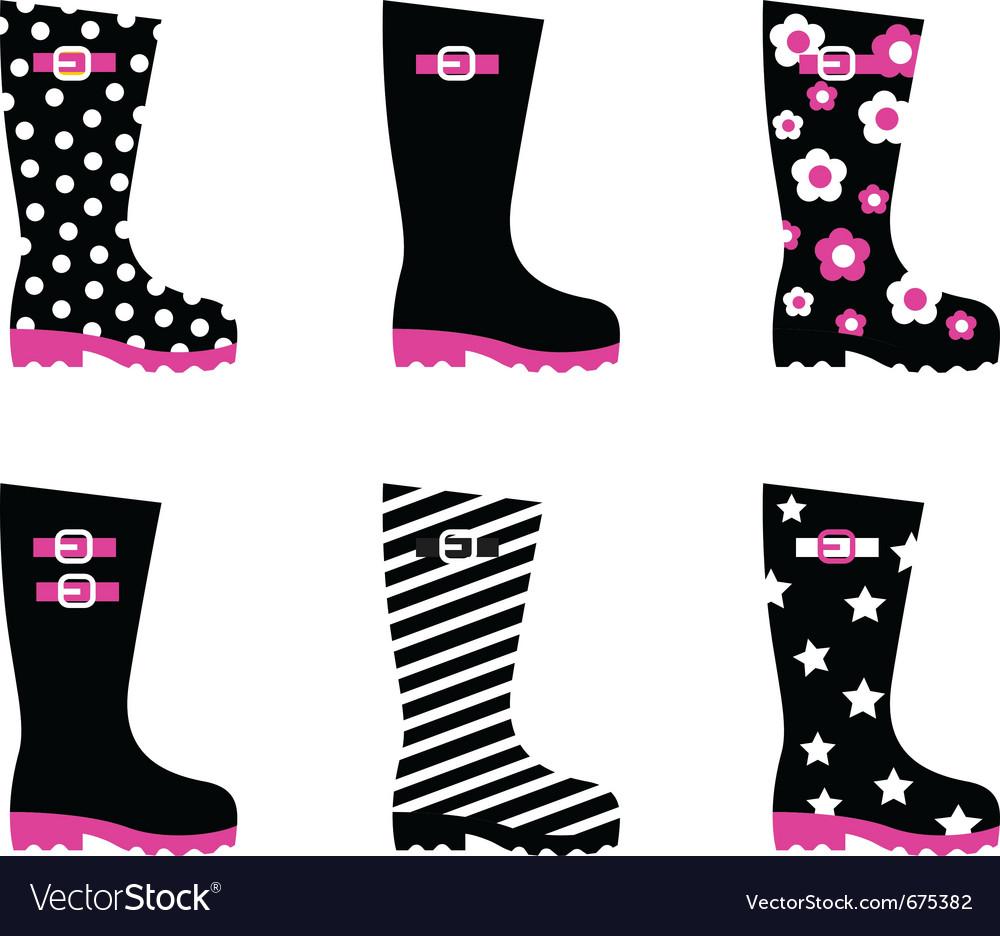 Patterned Rain Boots Custom Design Ideas