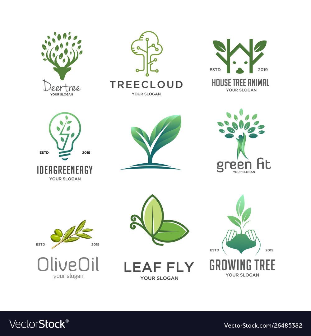 Set tree logo