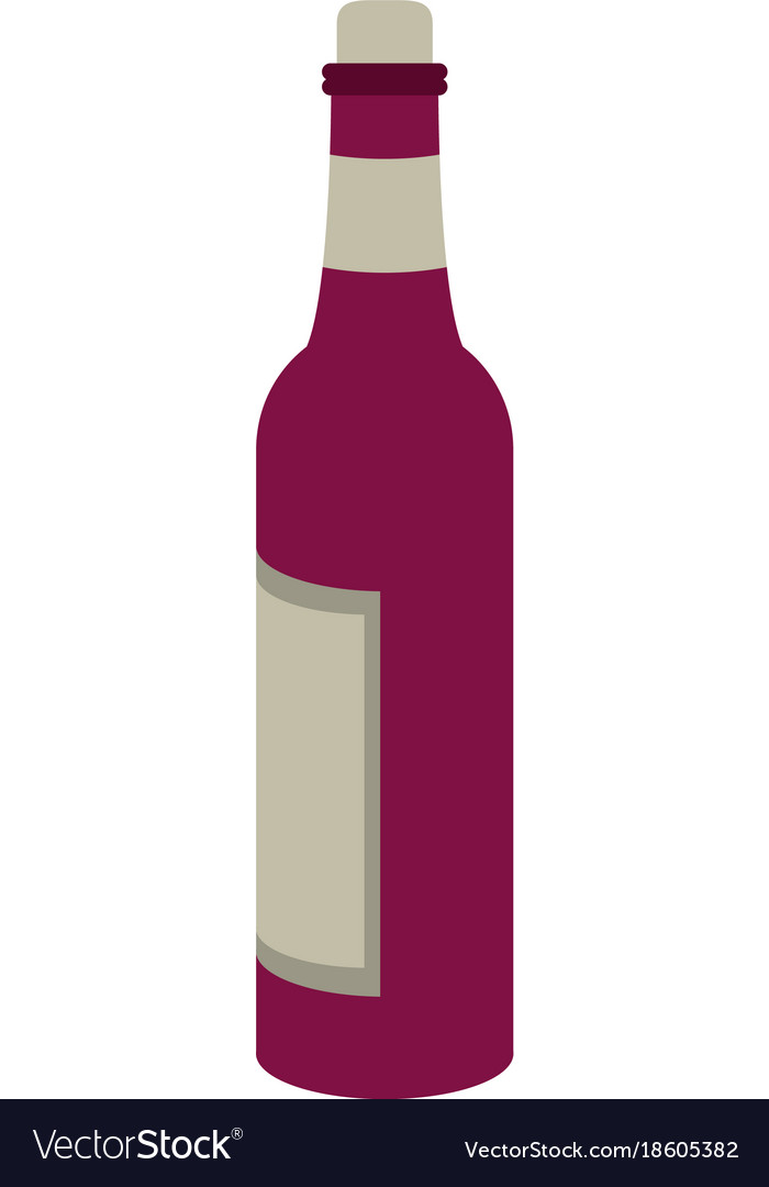Wine bottle drink