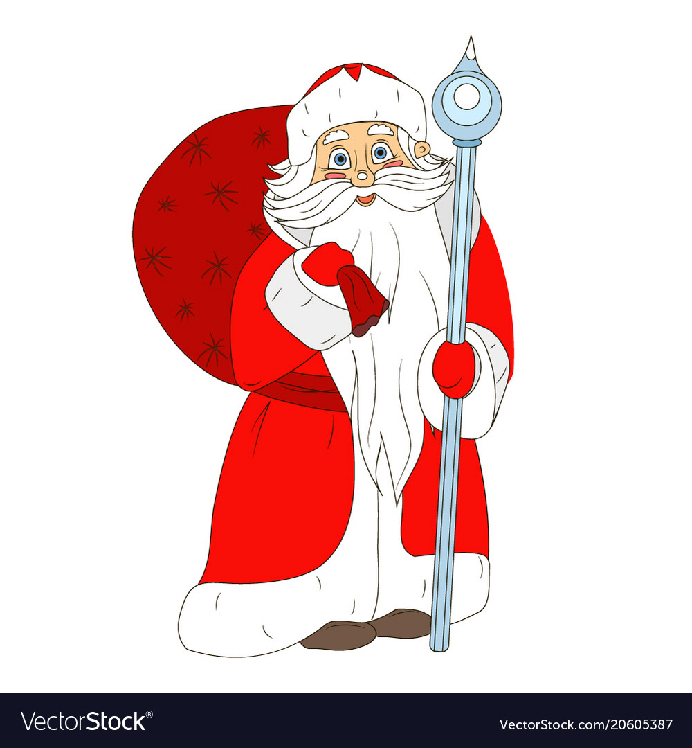 Fabulous santa claus