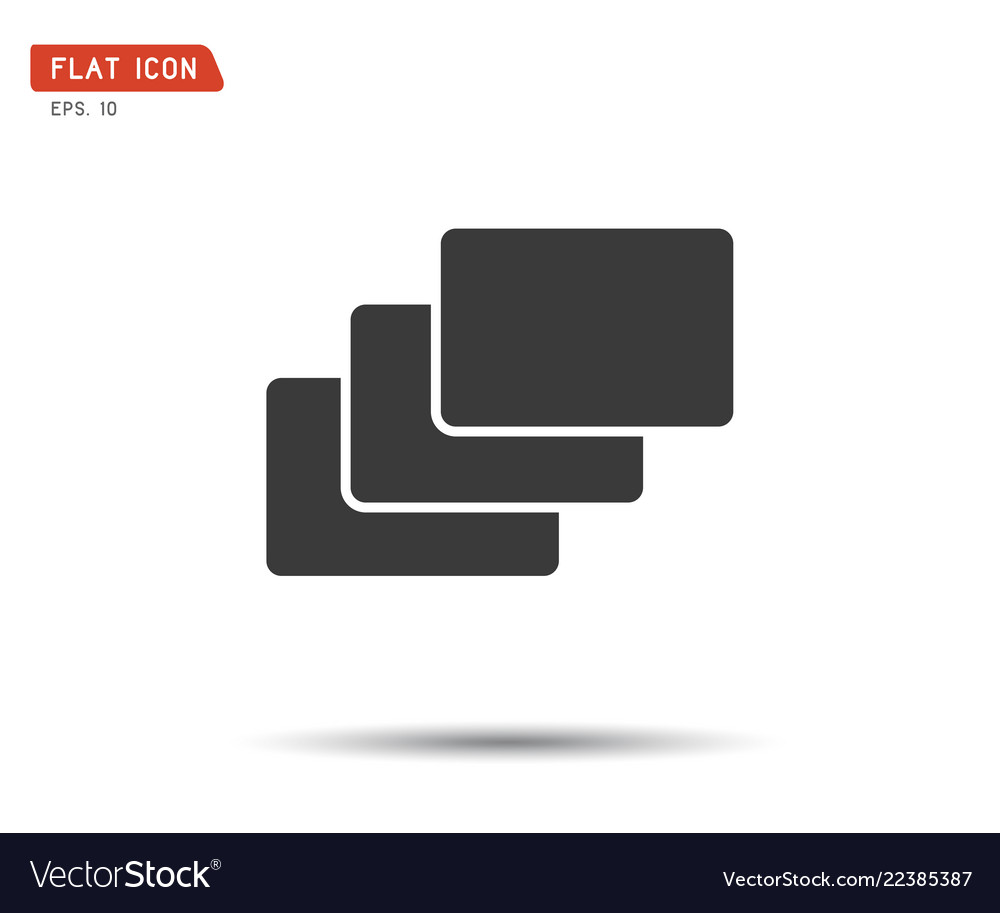 Folder flat icon logo