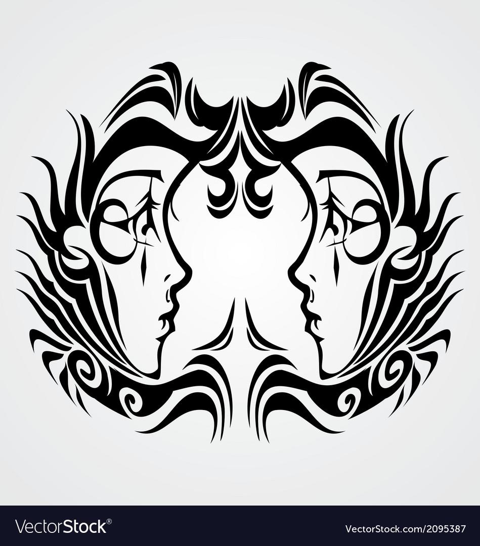 Tribal Gemini