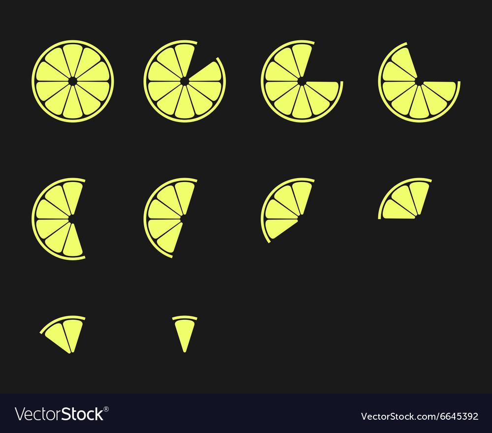 Citrus slices Orange lemon lime and grapefruit