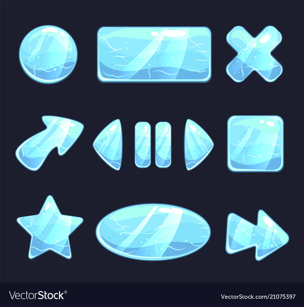 Ice game buttons