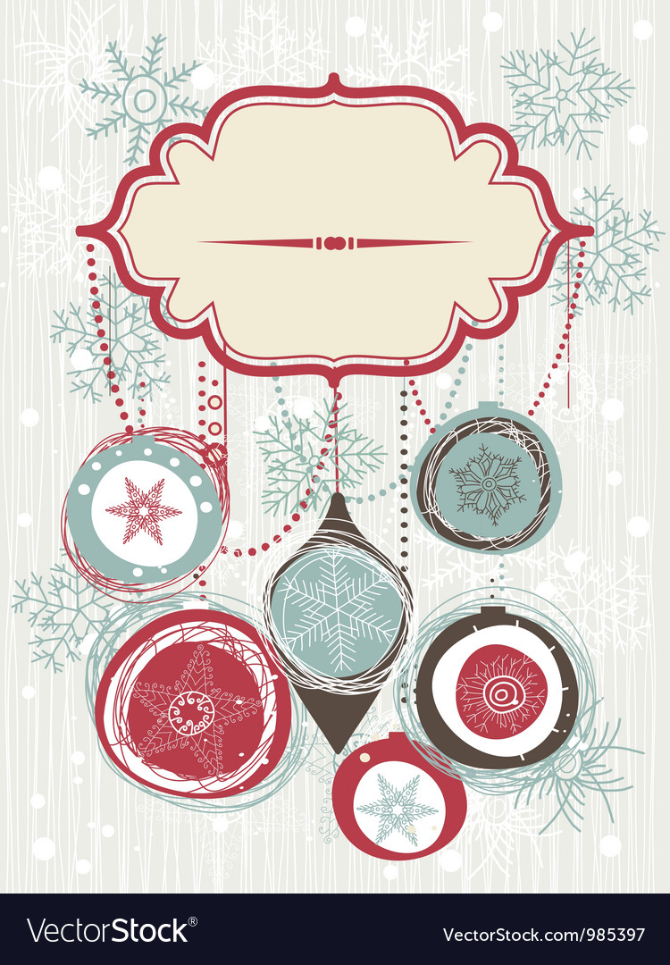 Vintage christmas invitation royalty free vector image vintage christmas invitation vector image stopboris Gallery