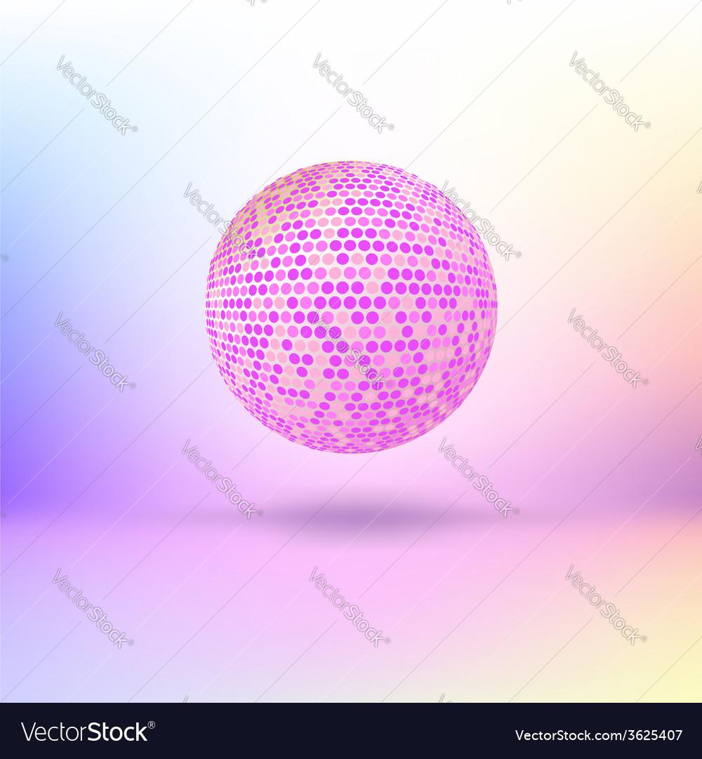 Halftone color sphere