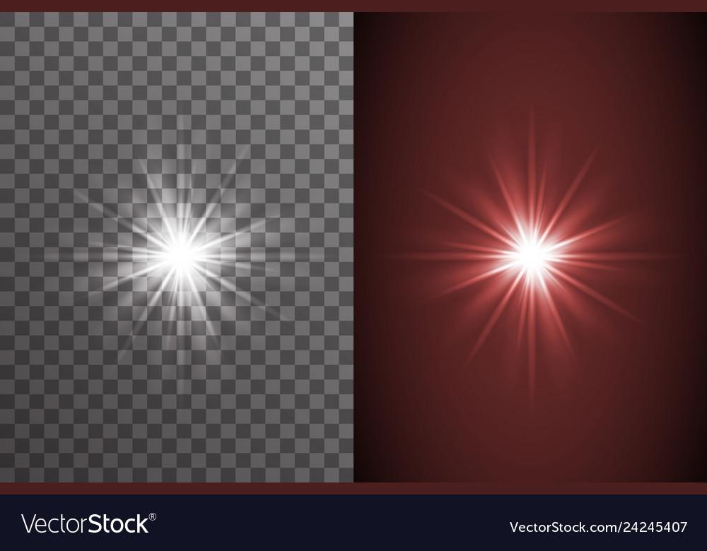 Light bright glow electric illumination effect