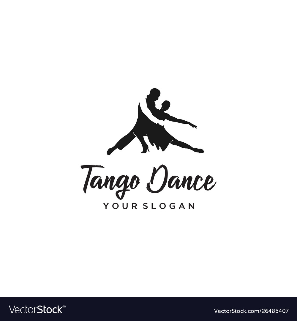 Tango dance logo