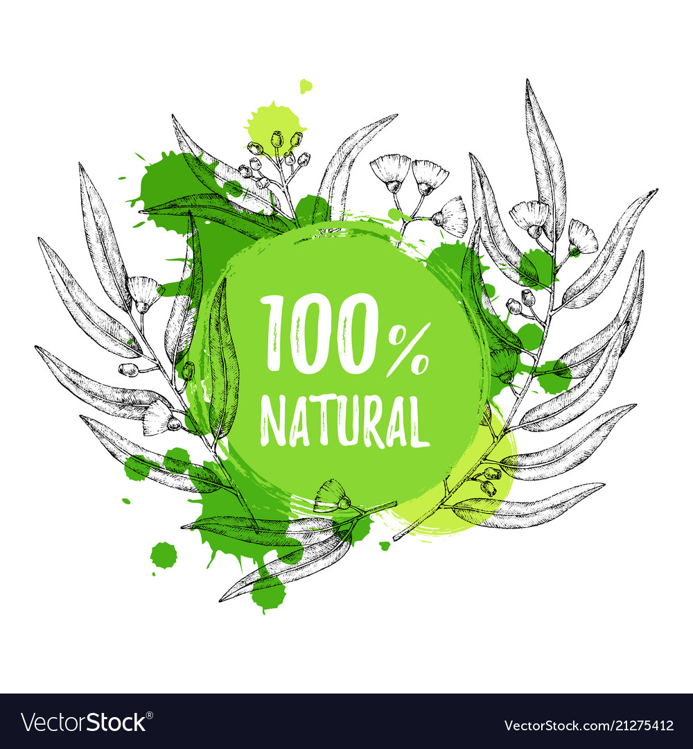 Advertising natural cosmetics sale promotion