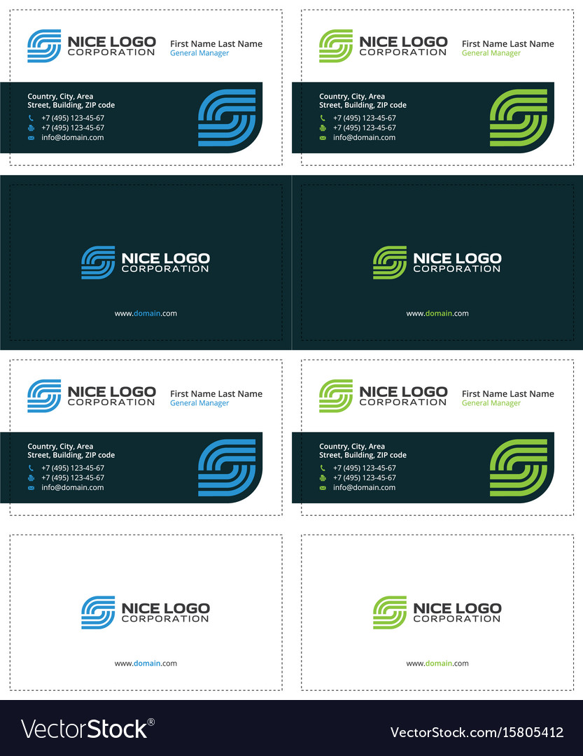 Business card internet service provider royalty free vector business card internet service provider vector image colourmoves