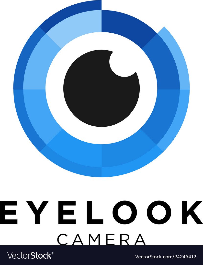 Eye camera logo design inspiration
