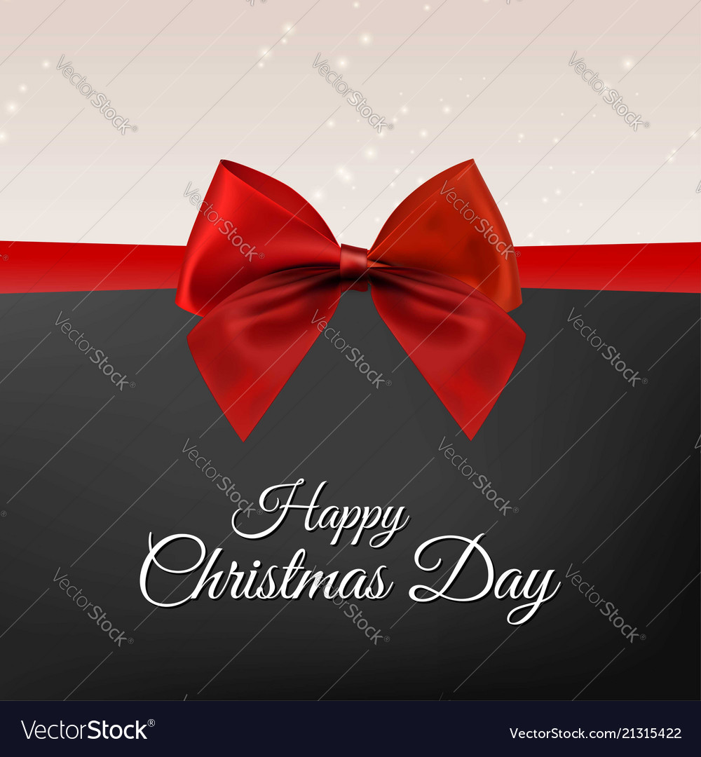 Christmas greetings card with dark background vector image m4hsunfo