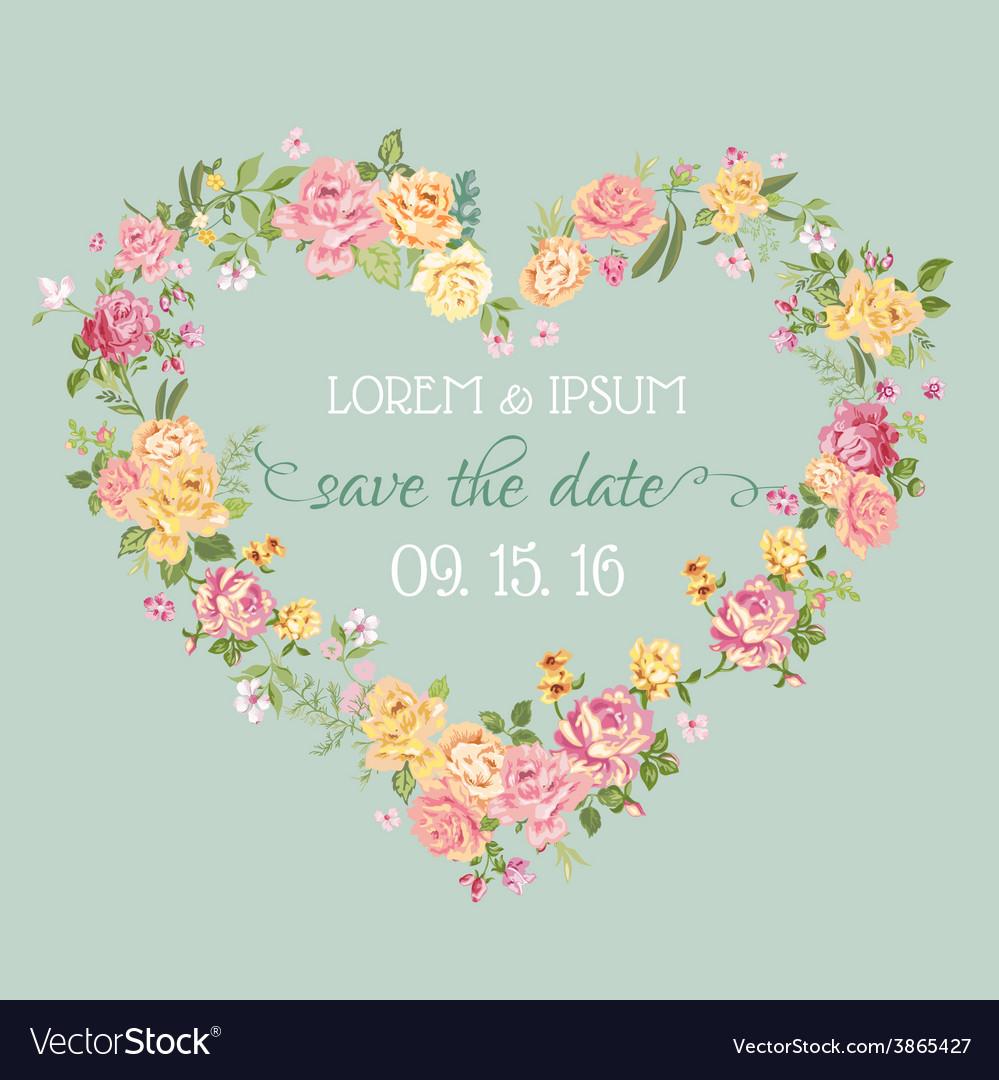 Wedding Invitation Card - Save the Date