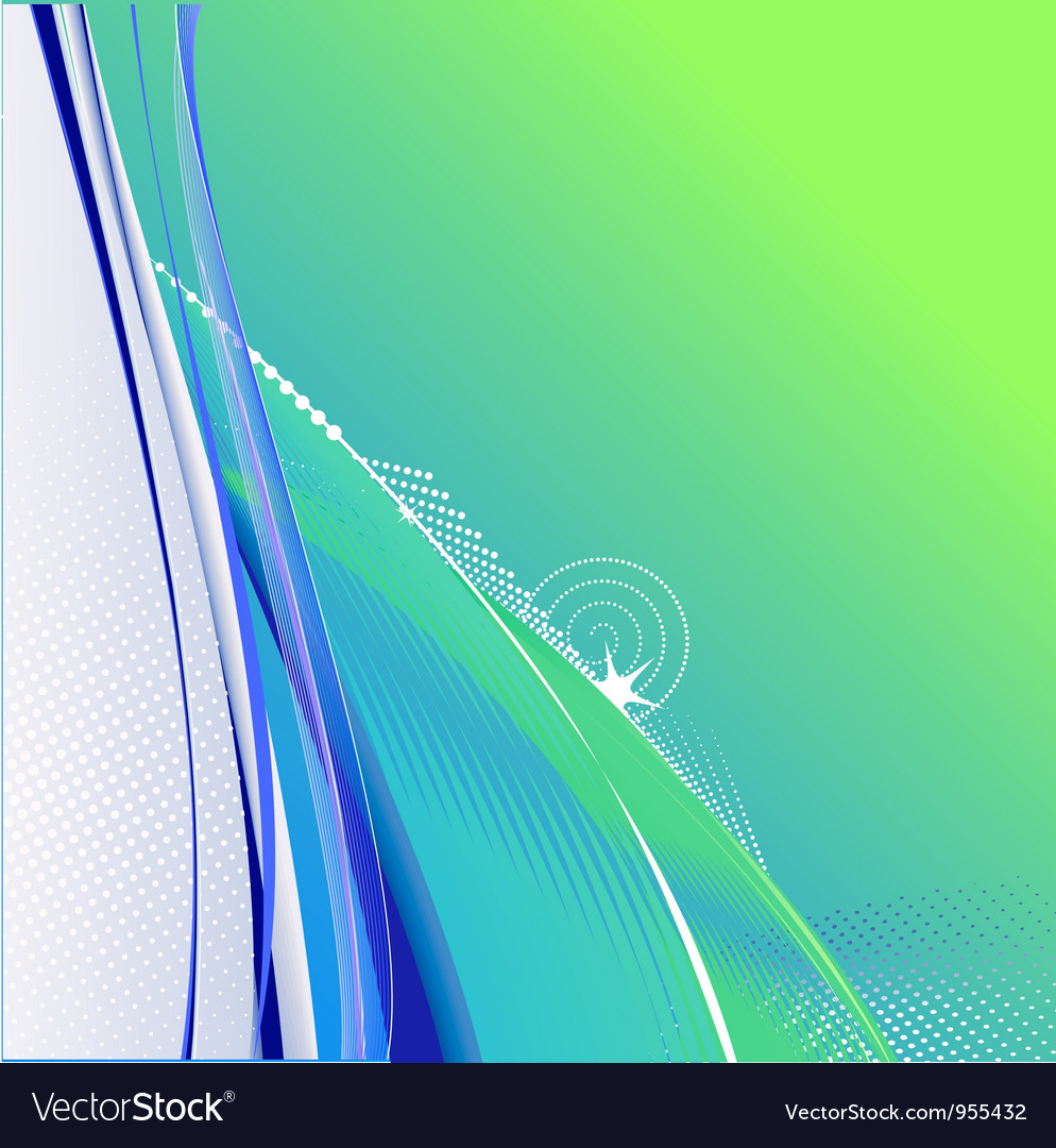 Abstract smooth lines background