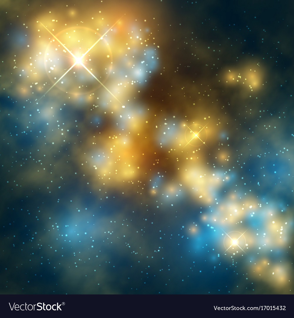 Outer space abstrac background with cosmic