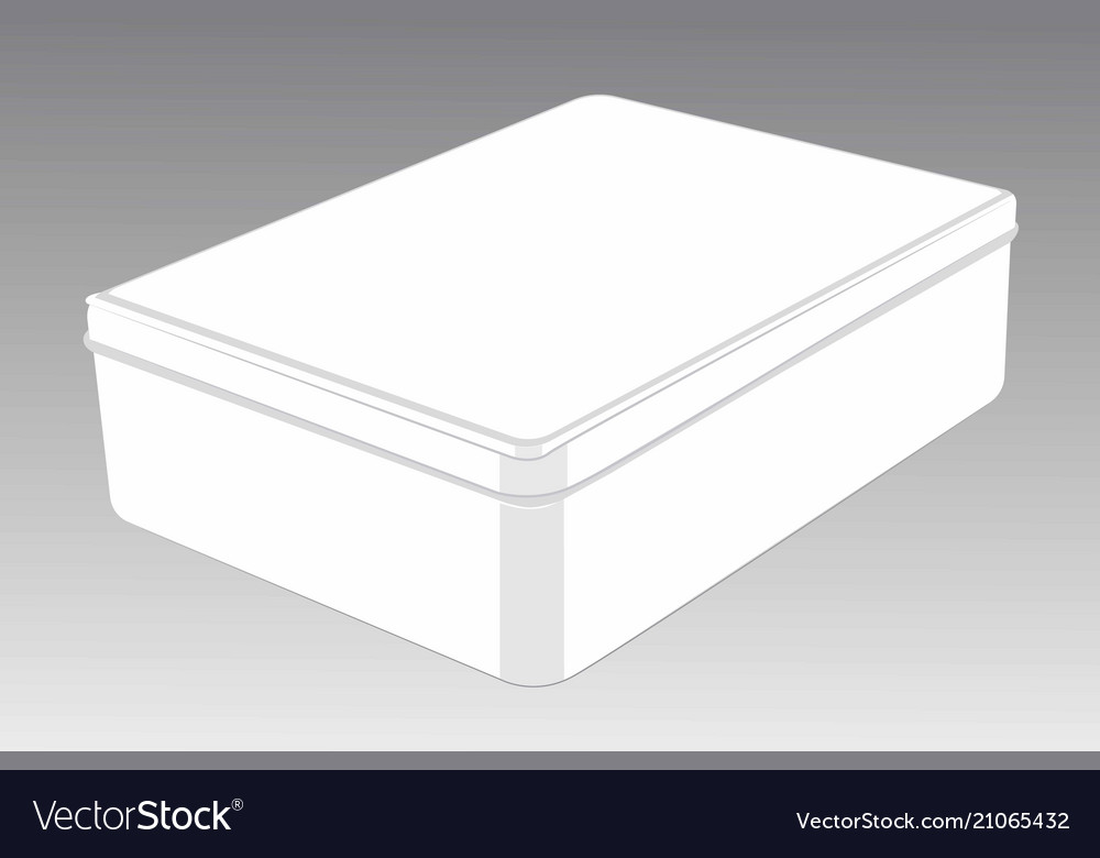 Template of closed box