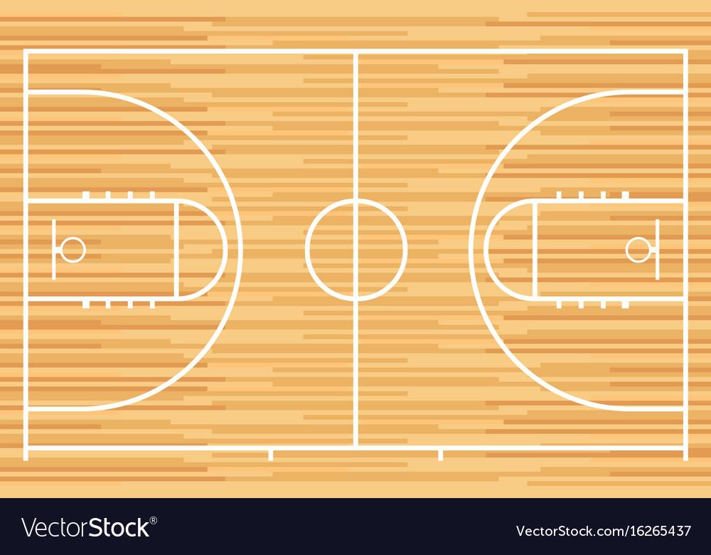 Parquet Wood Board Vector Image