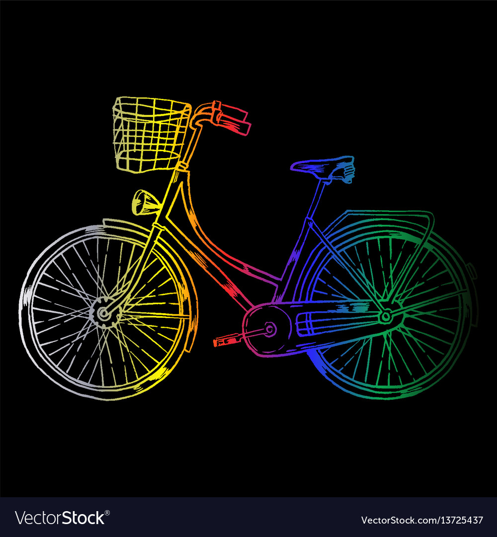 Bicycle with cart