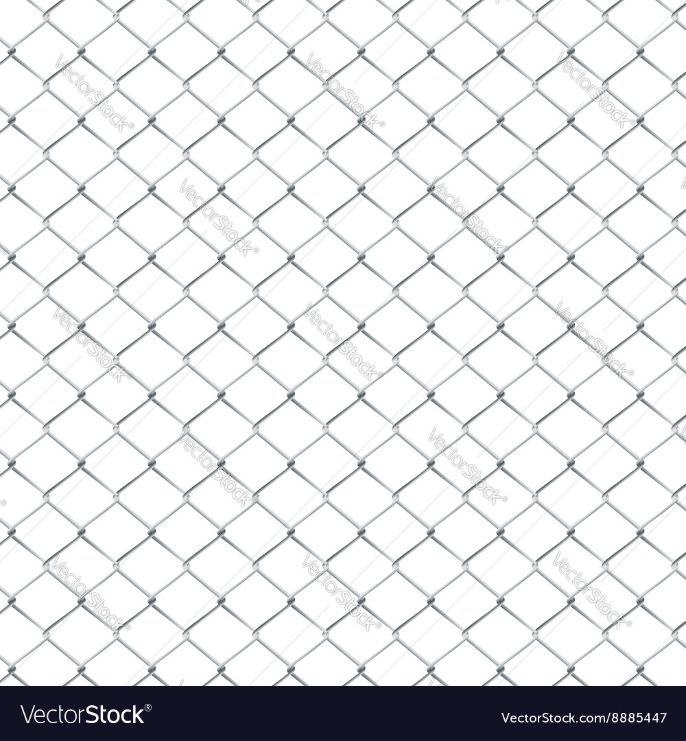 Metal Mesh Fence3 vector image