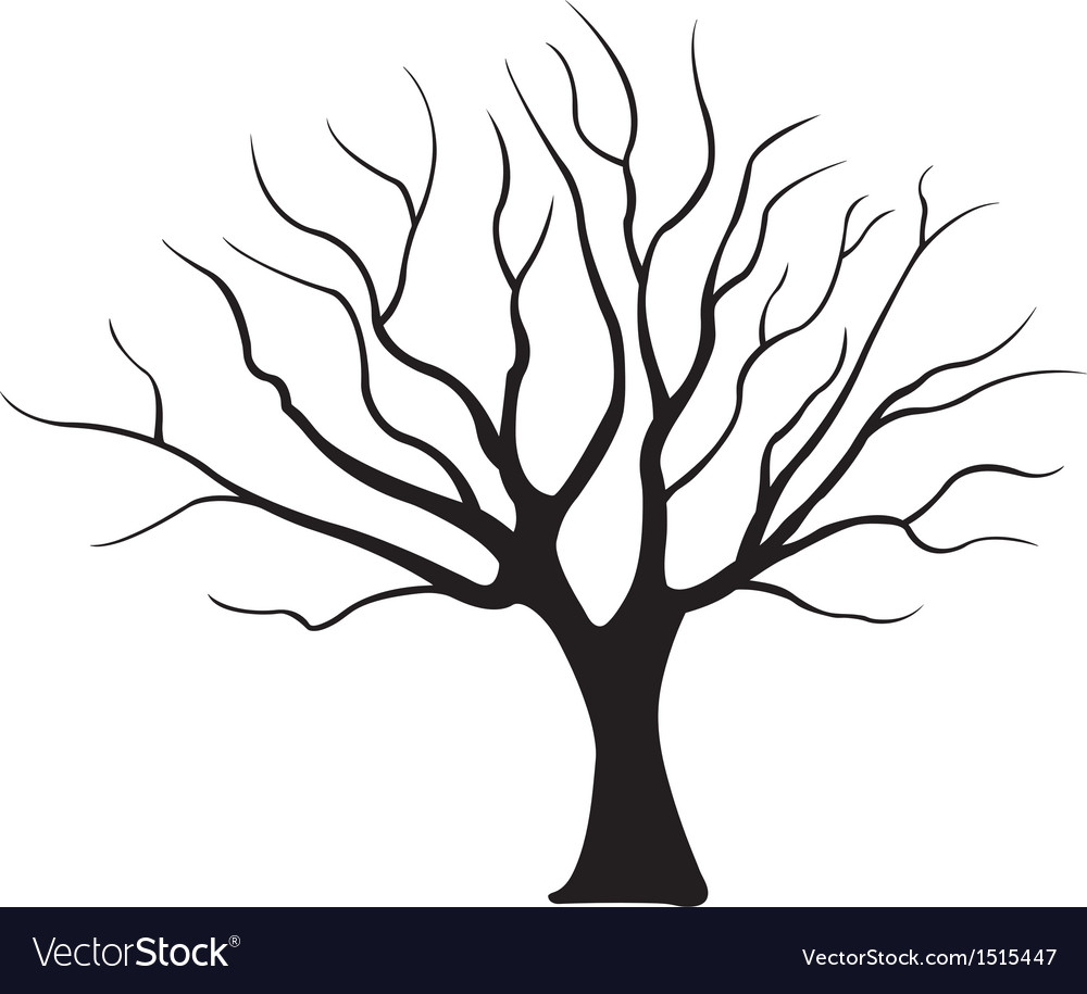 tree royalty free vector image vectorstock rh vectorstock com tree vector pattern tree vector file