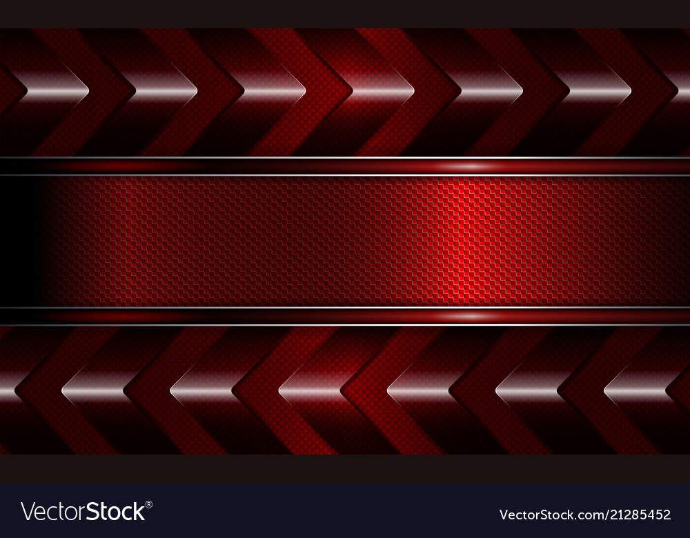 Geometric Dark Red Background With A Texture Frame Vector Image