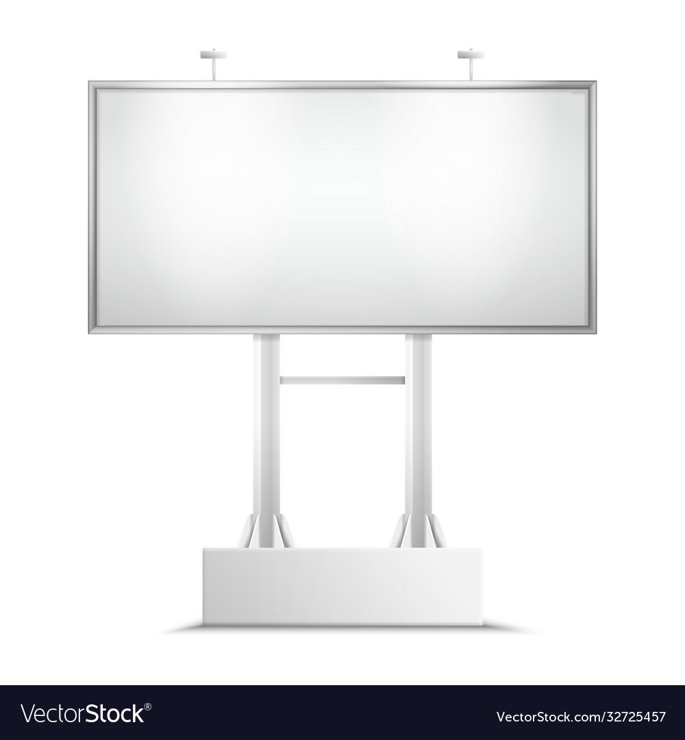 Billboard mockup or city light background
