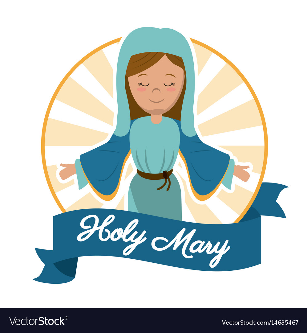 Holy mary mother miracle salvation image