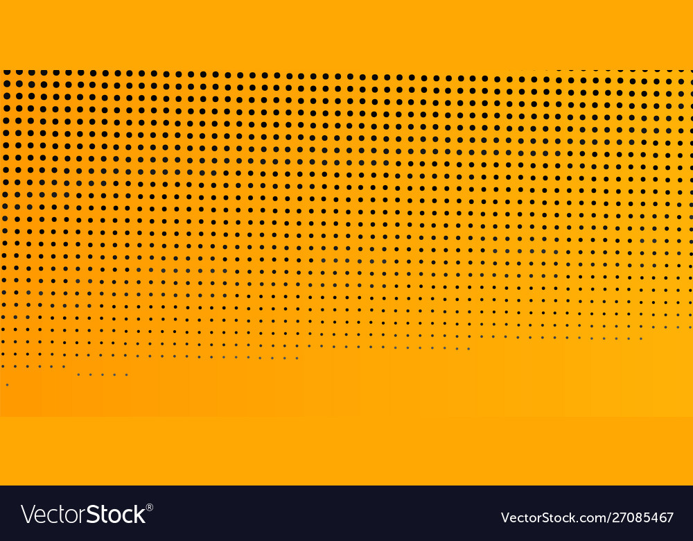 Yellow abstract dotted background