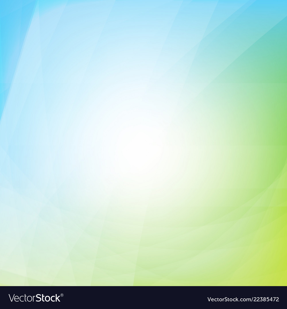 Blue and green dynamic background