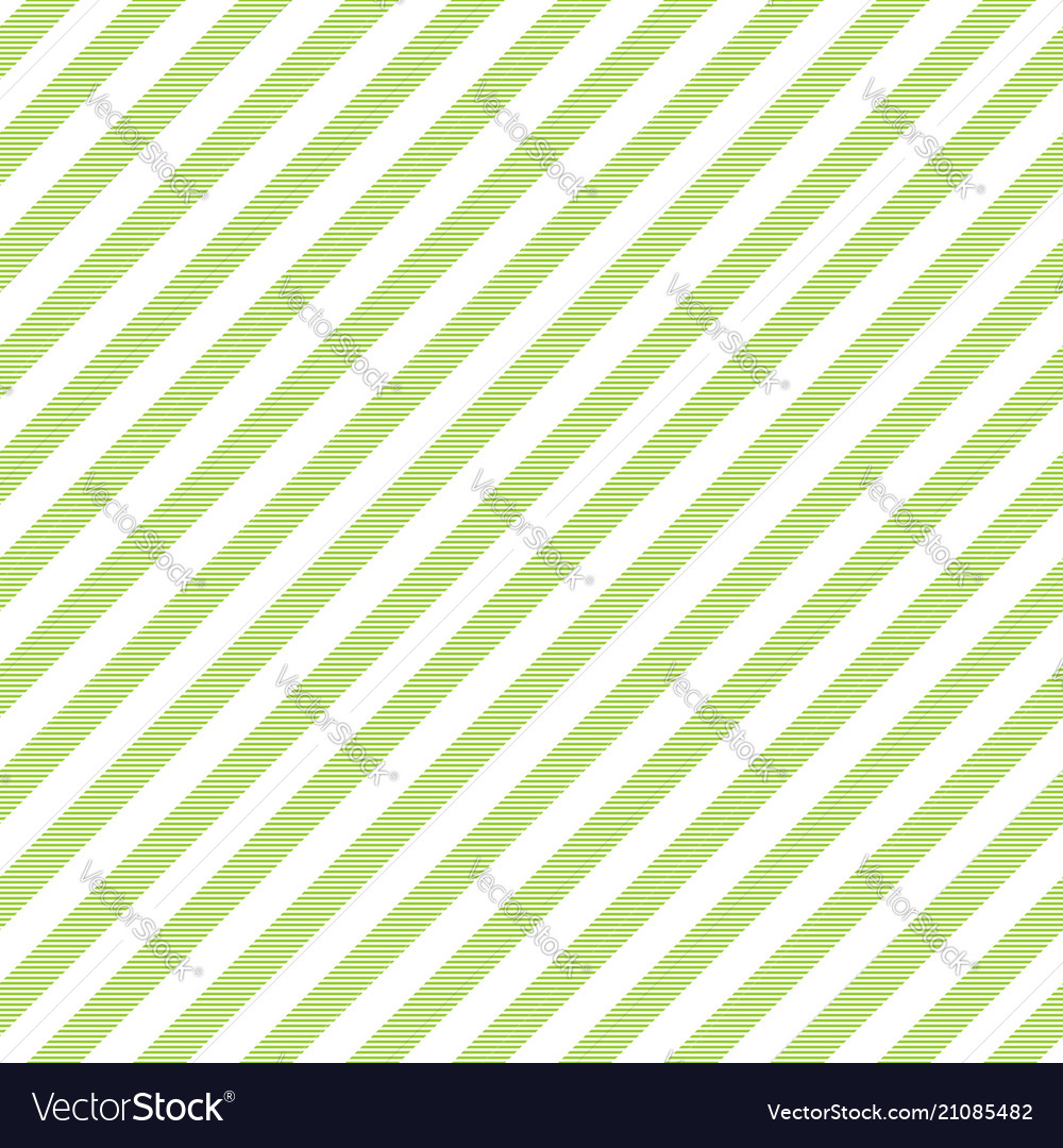 Green White Striped Fabric Texture Seamless