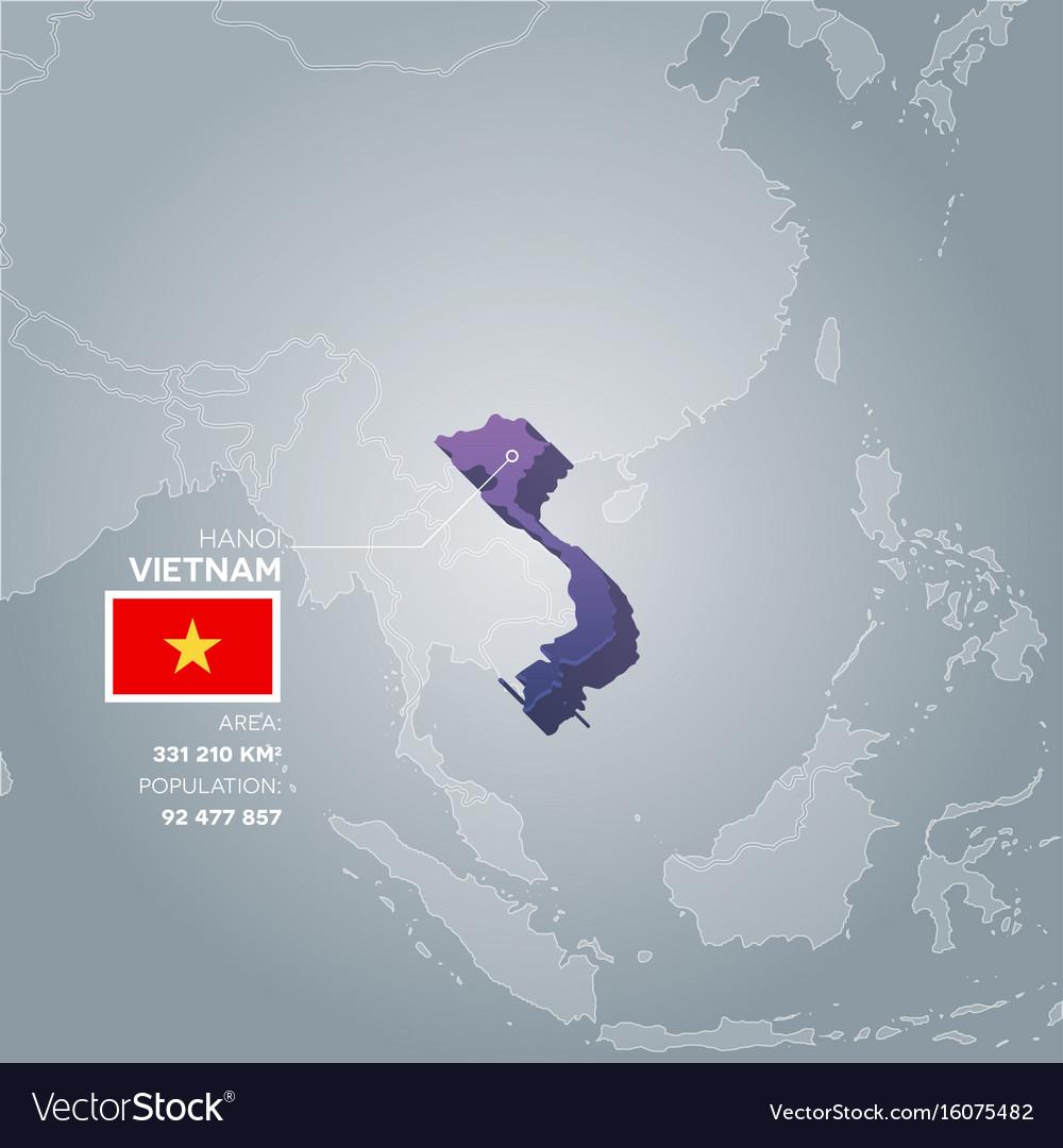 Vietnam information map