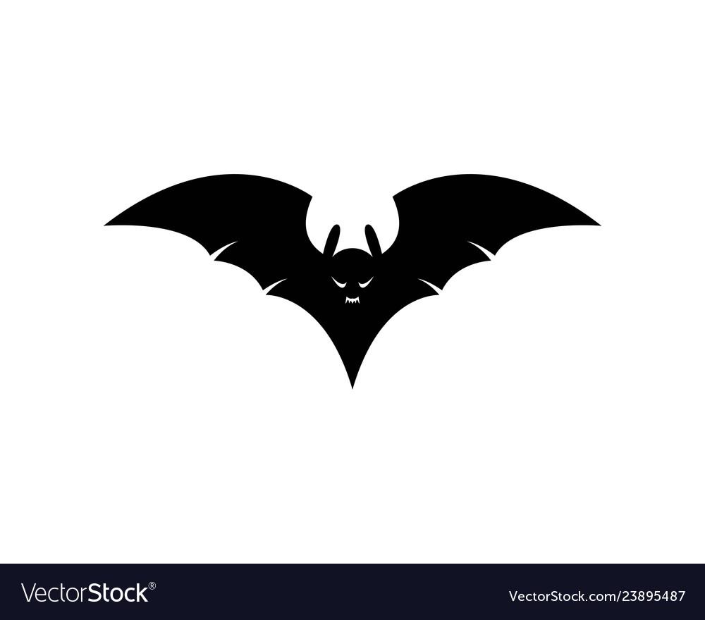 Bat Logo Template Vector Image