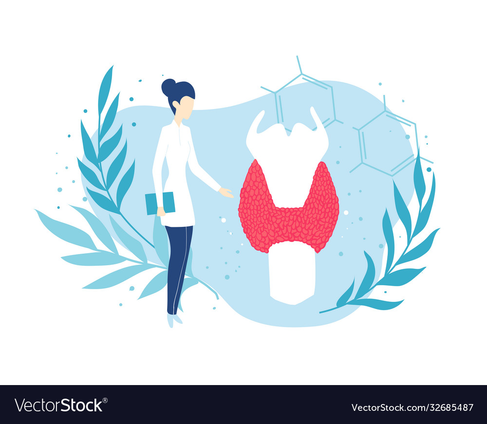 Thyroid gland doctor endocrinologist health and